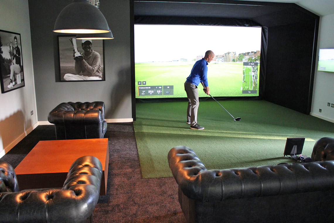 Golf Simulator Installation